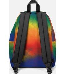 eastpak padded pak'r backpack - rainbow colour
