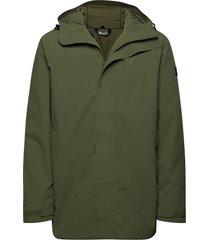 olden primaloft long jacket parka jas groen skogstad
