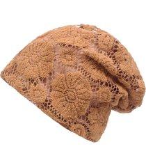 berretto da donna confortevole in cotone elasticizzato traspirante con elastico in cotone etnico