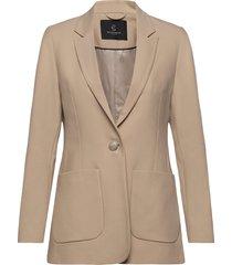 cindy malie blazer blazer colbert beige bruuns bazaar