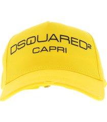 baseball cap capri geel oranje