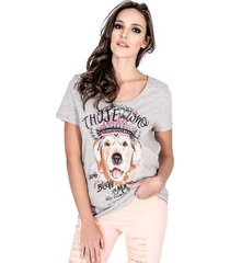 t-shirt dog colcci