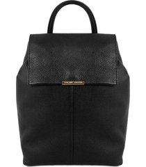 tuscany leather tl141706 tl bag - zaino donna in pelle morbida nero