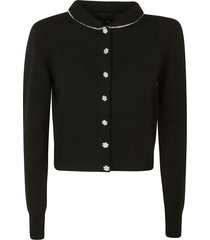 marc jacobs crystal embellished cardigan