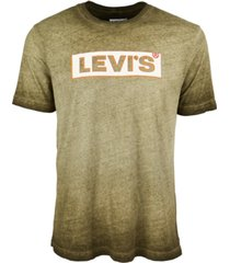 levi's men's grunge logo graphic t-shirt