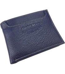 carteira masculina em couro 6208md