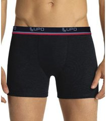 cueca lupo boxer algodão com elastano kit com 10 unidades sortido - masculino
