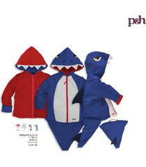 chaqueta impermeable tiburón azul
