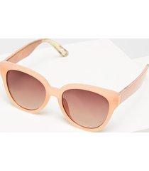 lane bryant women's oversized cateye sunglasses no coral