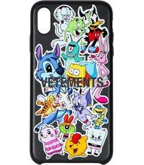 monster sticker phone case