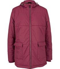 giacca con cappuccio e tasche (viola) - bpc bonprix collection