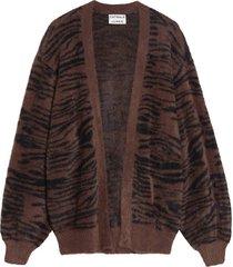 vest fuzzy zebra bruin