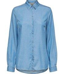blouse matti blauw