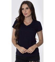 t-shirt osmoze z 602110167 marinho - azul marinho - feminino - dafiti