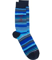 etro striped socks - blue