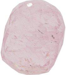 loose faceted morganite pendant
