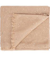 farro cashmere silk and paillette scarf