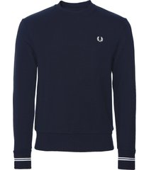 fred perry fred perry logo sweater