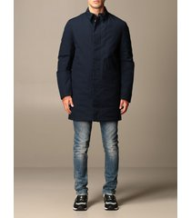 museum jacket edward museum trench coat in cotton microfiber