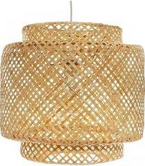 lampa wisząca bambusowa