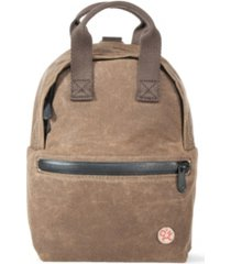 manhattan portage waxed euclid backpack