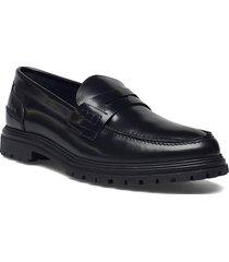 toby chunky loafer loafers låga skor svart les deux