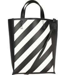 off white diagonal tote bag