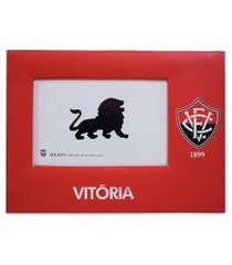 porta retrato minas de presentes papelão para uma foto 15x10cm - vitória vermelho