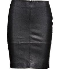 kendal skirt 2169 knälång kjol svart samsøe samsøe
