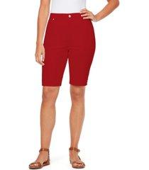 gloria vanderbilt women's amanda bermuda shorts