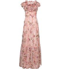 agnes dress maxiklänning festklänning rosa ida sjöstedt