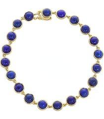 cabochon lapis bracelet
