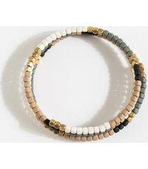 kelly beaded bracelet - natural