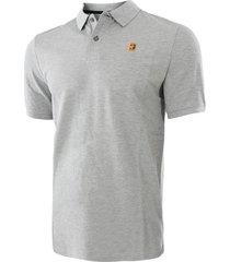 camiseta nike court heritage polo-gris