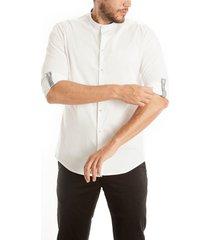 camisa frank pierce atmósfera c2014 - blanco