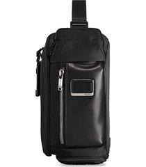 tumi kelley sling backpack - black
