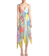 goldie colorblock stripe maxi dress