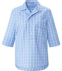 blouse met halflange korte mouwen van day.like blauw