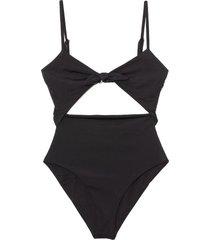 kia swimsuit in black