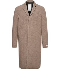 monroe wool coat yllerock rock brun les deux