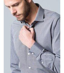 camisa aviator social slim fit castelo masculina