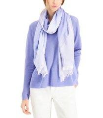 eileen fisher organic fringed scarf