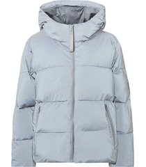 jacka short padded hood jacket