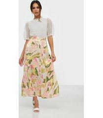 selected femme slfmola hw ankle skirt b midikjolar