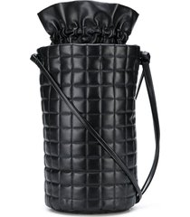 a.w.a.k.e. mode drawstring bucket bag - black