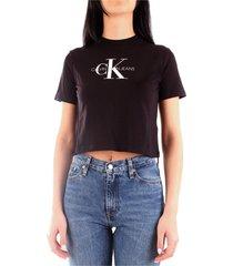calvin klein j20j213692 t-shirt women black