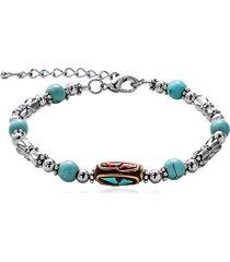 braccialetto etnico di perline braccialetto di fascino colorato accessori colorati di smalto regalo fatto a mano per le donne
