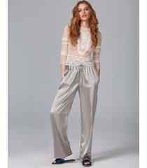 spodnie jedwabne simplicity