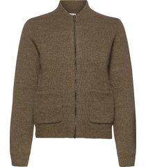 allyssaln jacket rws ulljacka jacka brun lounge nine