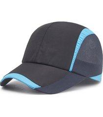 uomo donna maglia da baseball traspirante ad asciugatura rapida ultra-asciutta cappellino da pesca da arrampicata sportiva